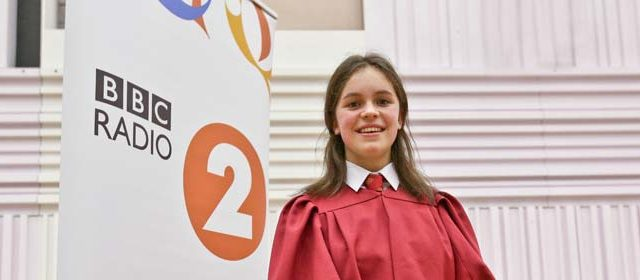 Queen Mary's School Student Wins the BBC's Young Chorister of the Year