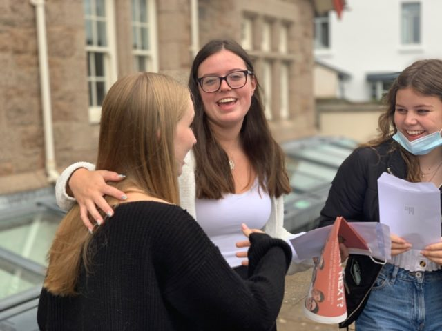 A Levels & Highers – well done & good luck